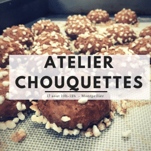 ateleir chouquettes fabic montpellier formation